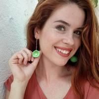 Green 🐚 with pearl. Interested 👉🏼DM  . . . #seashelljewelry #joyasunicas #joyasartesanales #joyasdeplata #jewelrydesign #joyasdeverano #silver
